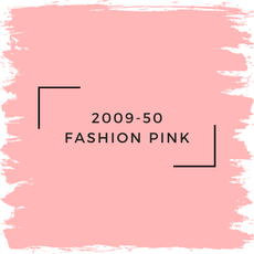 Benjamin Moore 2009-50 Fashion Pink