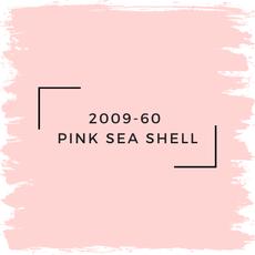 Benjamin Moore 2009-60  Pink Sea Shell