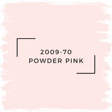 Benjamin Moore 2009-70 Powder Pink