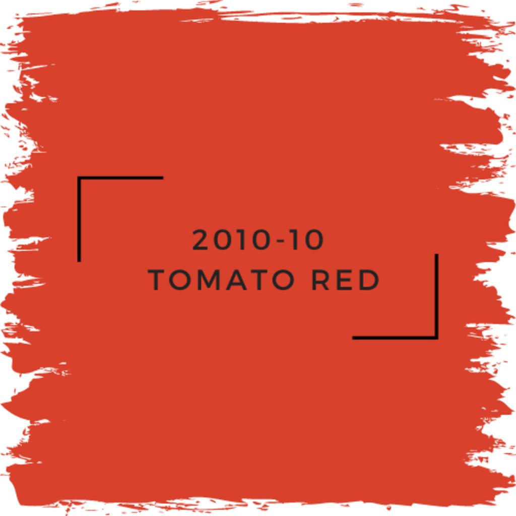 Benjamin Moore 2010-10  Tomato Red