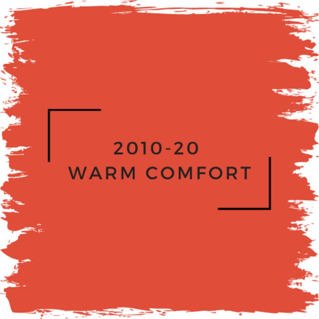 Benjamin Moore 2010-20  Warm Comfort