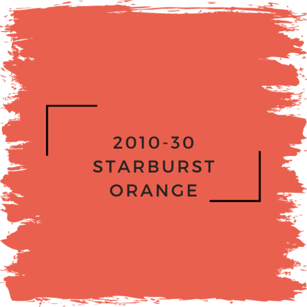 Benjamin Moore 2010-30 Starburst Orange