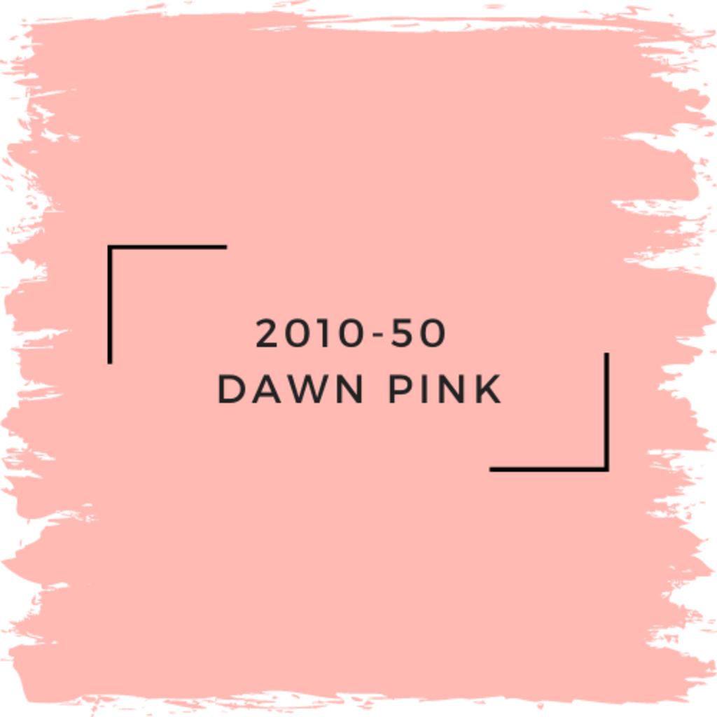 Benjamin Moore 2010-50  Dawn Pink
