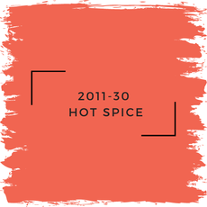 Benjamin Moore 2011-30  Hot Spice