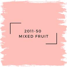 Benjamin Moore 2011-50  Mixed Fruit