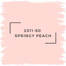 Benjamin Moore 2011-60  Springy Peach