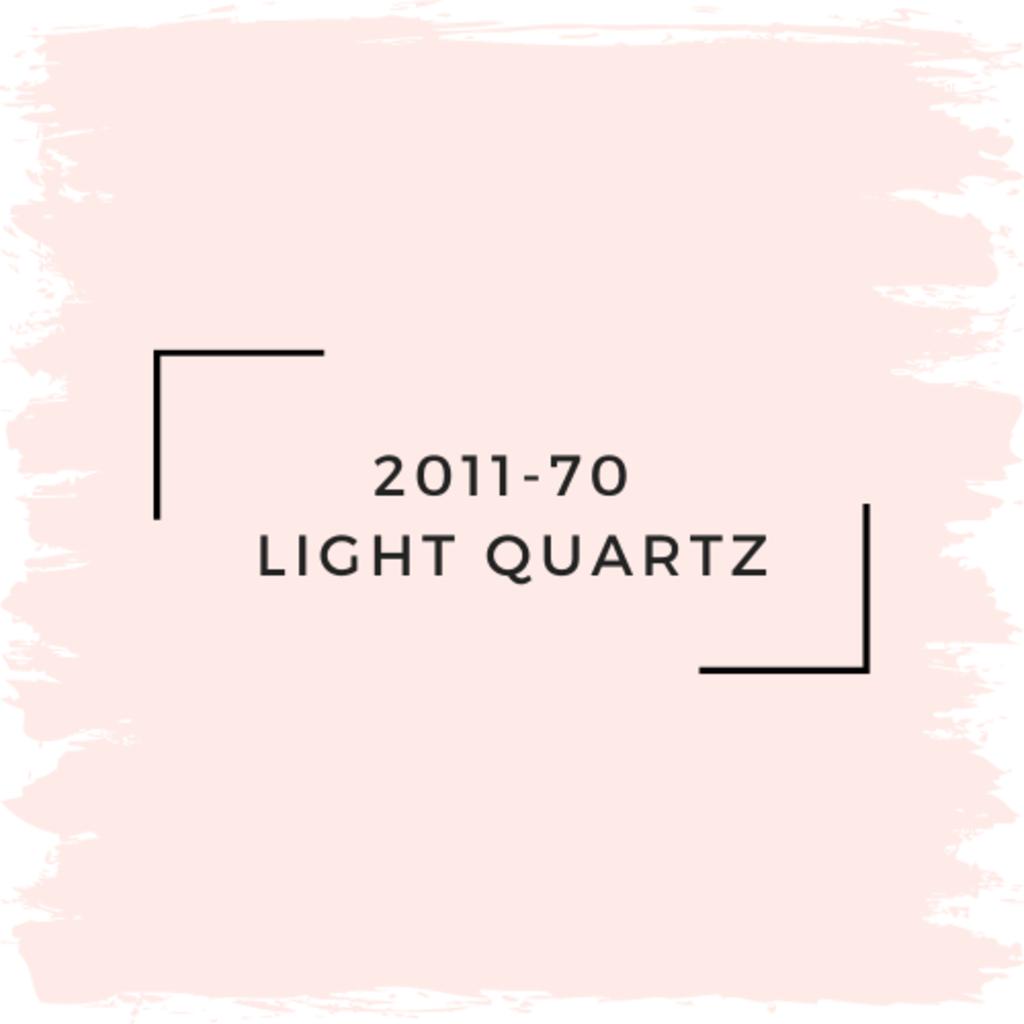 Benjamin Moore 2011-70  Light Quartz