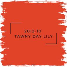 Benjamin Moore 2012-10  Tawny Day Lily