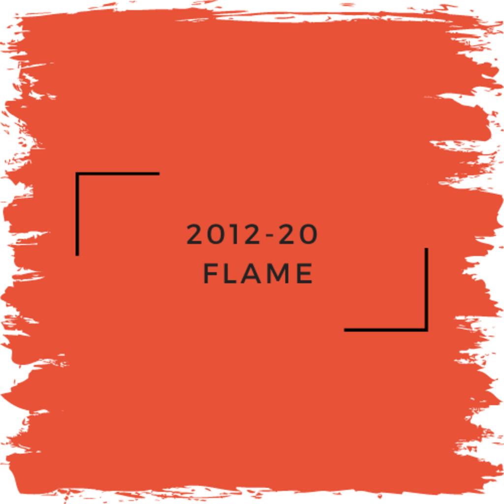 Benjamin Moore 2012-20  Flame