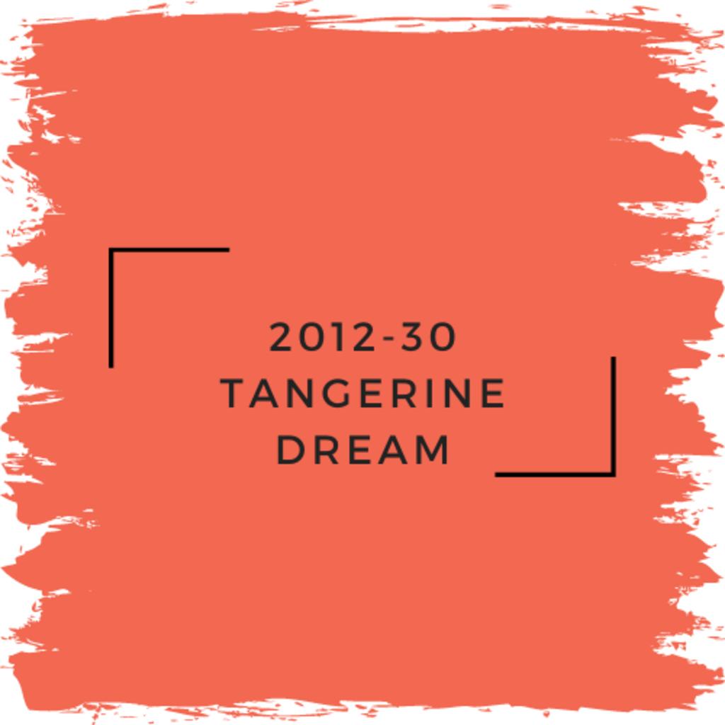 Benjamin Moore 2012-30 Tangerine Dream