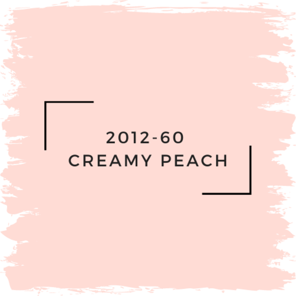 Benjamin Moore 2012-60  Creamy Peach