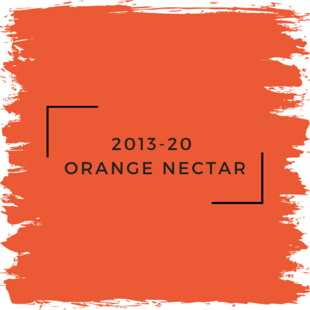 Benjamin Moore 2013-20  Orange Nectar