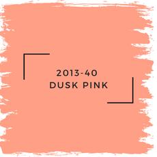 Benjamin Moore 2013-40  Dusk Pink