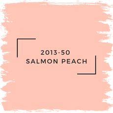 Benjamin Moore 2013-50  Salmon Peach