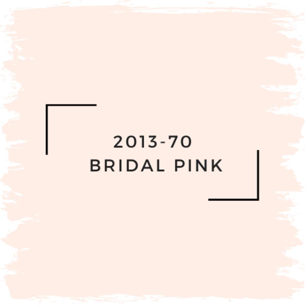 Benjamin Moore 2013-70  Bridal Pink
