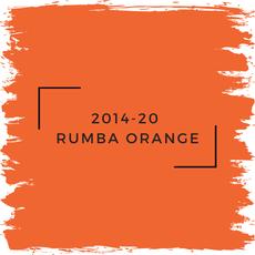Benjamin Moore 2014-20  Rumba Orange