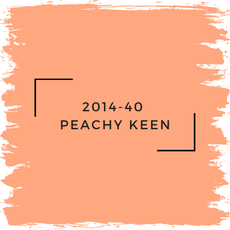 Benjamin Moore 2014-40  Peachy Keen