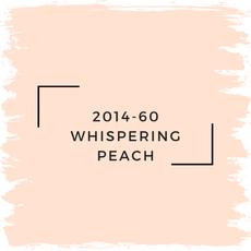 Benjamin Moore 2014-60 Whispering Peach