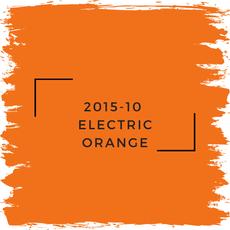 Benjamin Moore 2015-10  Electric Orange