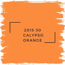 Benjamin Moore 2015-30  Calypso Orange