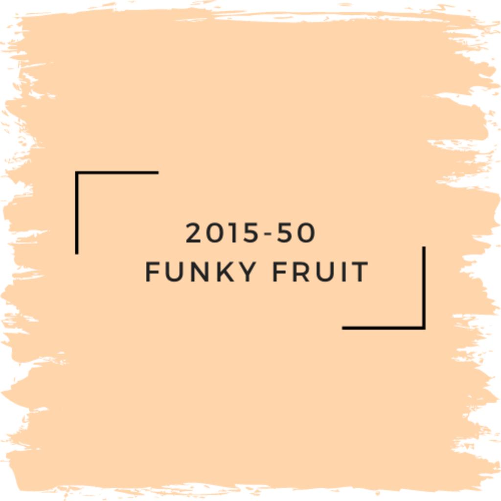 Benjamin Moore 2015-50  Funky Fruit