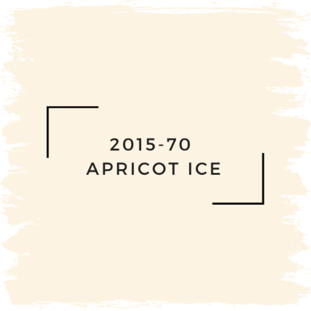 Benjamin Moore 2015-70  Apricot Ice