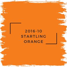 Benjamin Moore 2016-10 Startling Orange