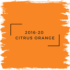 Benjamin Moore 2016-20  Citrus Orange