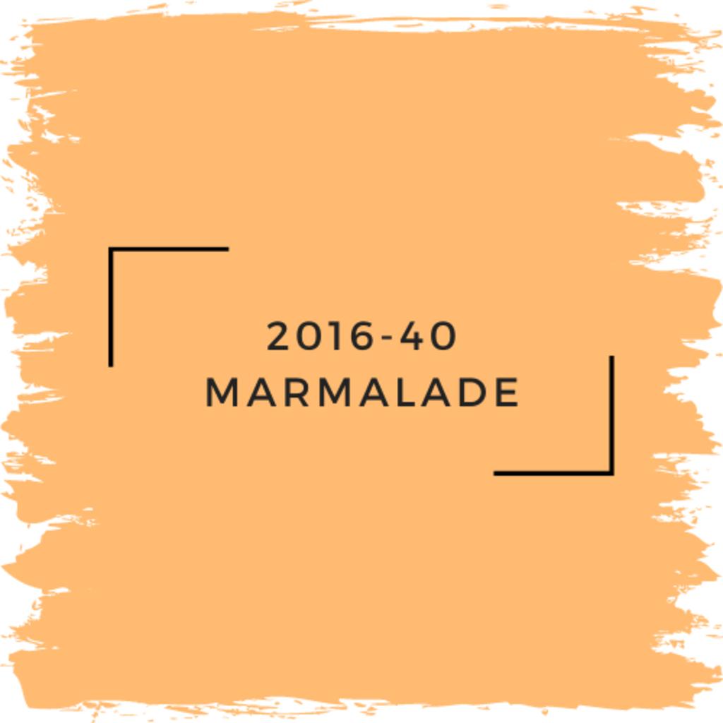 Benjamin Moore 2016-40 Marmalade