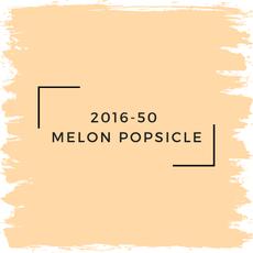 Benjamin Moore 2016-50  Melon Popsicle