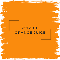 Benjamin Moore 2017-10  Orange Juice