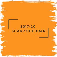Benjamin Moore 2017-20  Sharp Cheddar