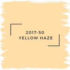 Benjamin Moore 2017-50  Yellow Haze