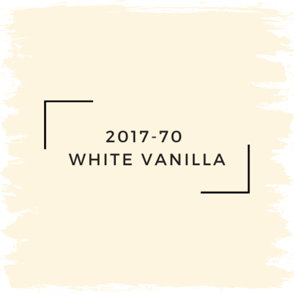 Benjamin Moore 2017-70  White Vanilla