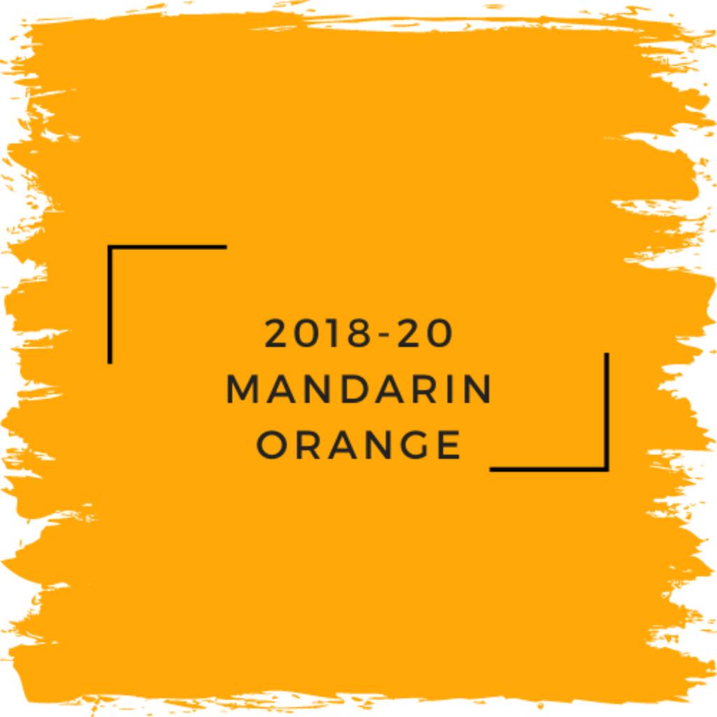 Benjamin Moore 2018-20 Mandarin Orange