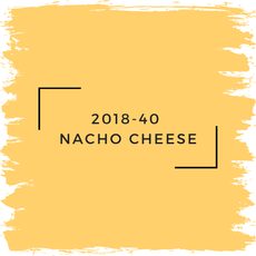 Benjamin Moore 2018-40  Nacho Cheese