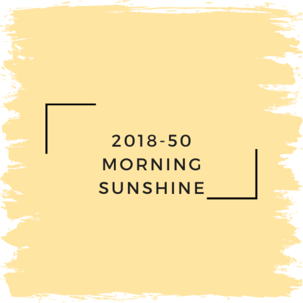 Benjamin Moore 2018-50 Morning Sunshine
