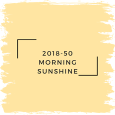 Benjamin Moore 2018-50 Morning Sunshine