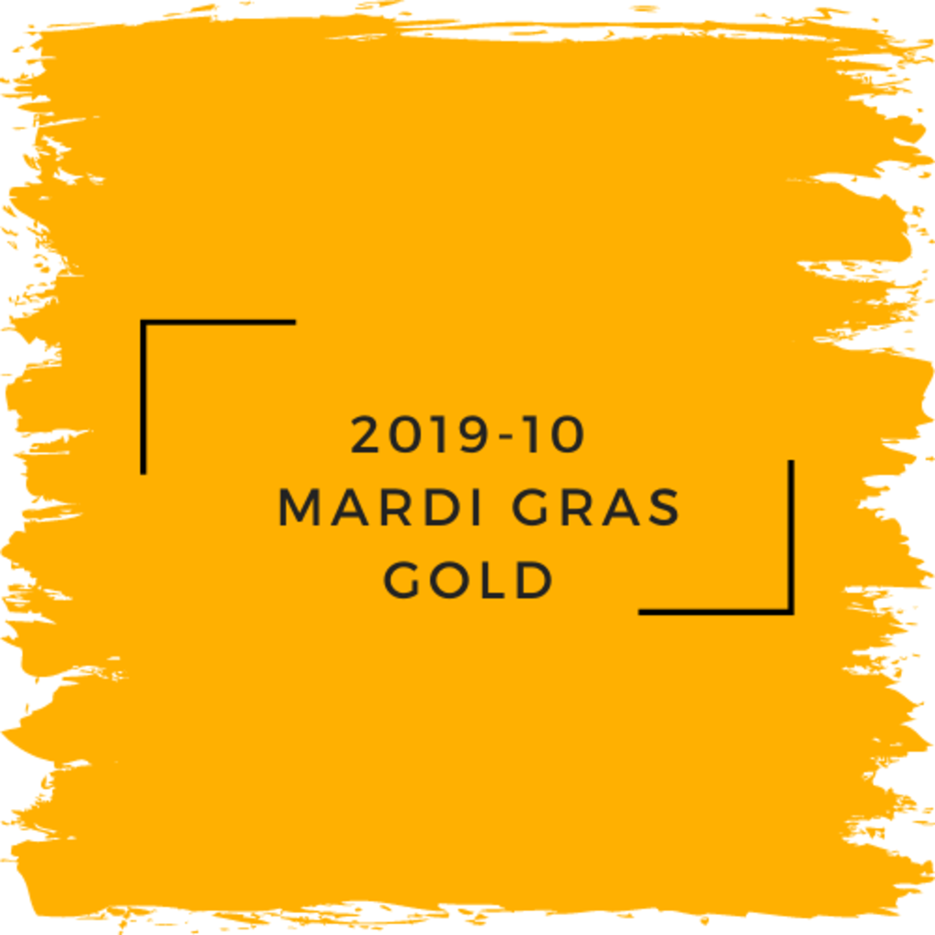 Benjamin Moore 2019-10  Mardi Gras Gold