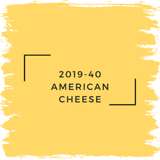 Benjamin Moore 2019-40 American Cheese