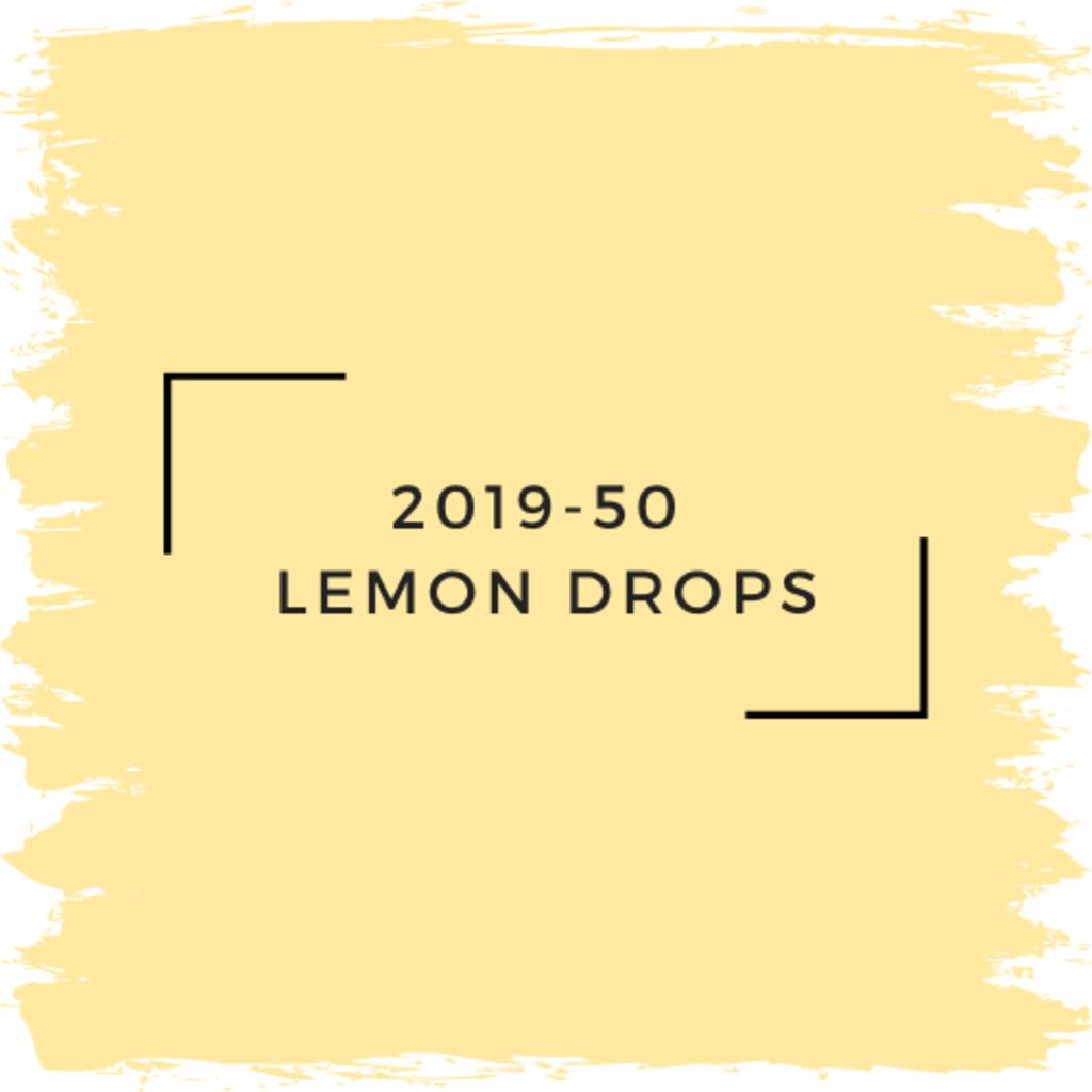 Benjamin Moore 2019-50  Lemon Drops