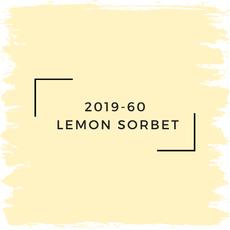 Benjamin Moore 2019-60  Lemon Sorbet