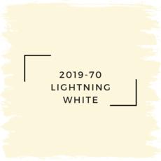 Benjamin Moore 2019-70 Lightning White