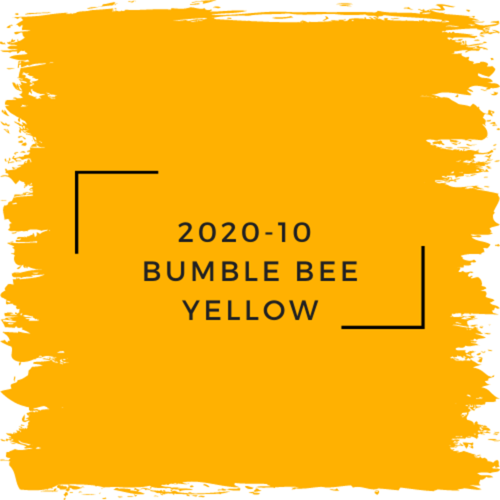 Benjamin Moore 2020-10  Bumble Bee Yellow