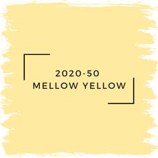 Benjamin Moore 2020-50  Mellow Yellow