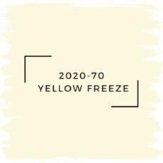 Benjamin Moore 2020-70  Yellow Freeze