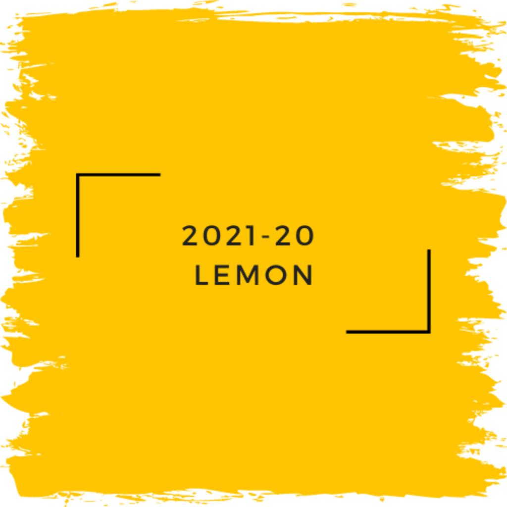 Benjamin Moore 2021-20  Lemon