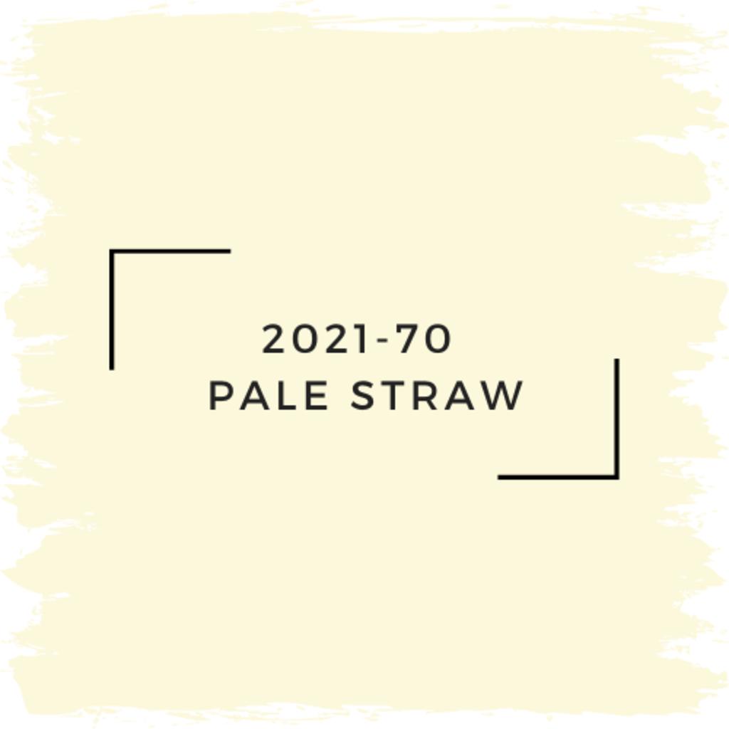 Benjamin Moore 2021-70  Pale Straw