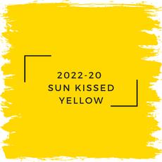 Benjamin Moore 2022-20  Sun Kissed Yellow