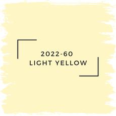 Benjamin Moore 2022-60  Light Yellow